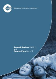 Annual Review 2010-11 and Centre Plan 2011-12 - Fair Play For ...