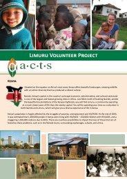 Limuru Volunteer Project Kenya - Mission Travel
