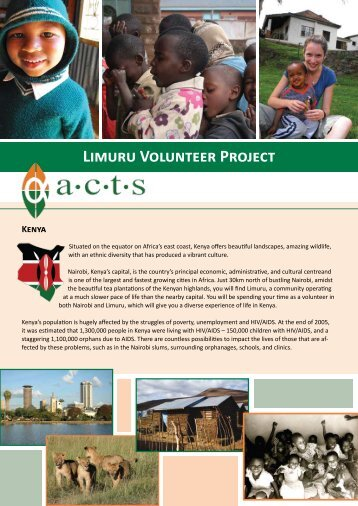 Limuru Volunteer Project Kenya - Mission Travel