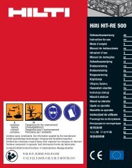 Adobe Acrobat fil dansk - Hilti Danmark A/S