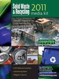 SWR 06 Media Kit - Solid Waste and Recycling