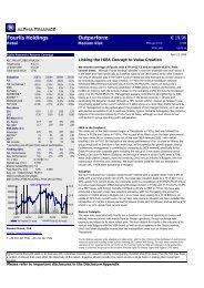 Fourlis Holdings Outperform