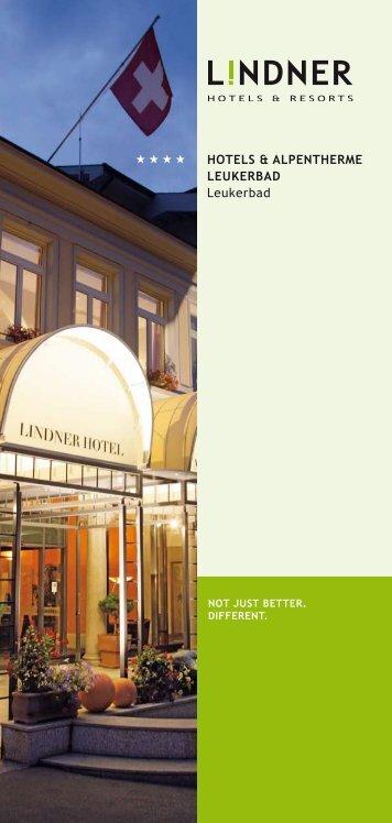 HOTELS & ALPENTHERME LEUKERBAD Leukerbad