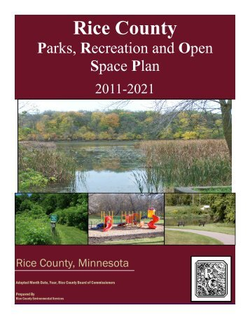 Final Parks Plan - Healthy Rice County