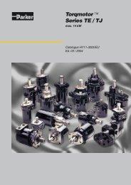 Series TE / TJ - KoHyd Kopeczky Hydraulik GmbH