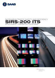 SIRS-200 ITS Product sheet (pdf) - Saab