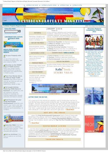 Download Latest Issue - Caribpro.com