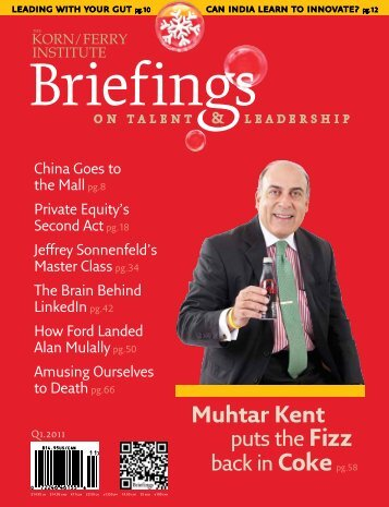 Briefings (From the Korn/Ferry Institute magazine Q1 2011) - Global ...