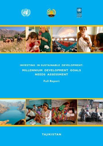 Tajikistan, the needs assessment - Unesco