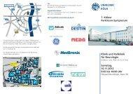 7. Kölner Parkinson-Symposium Klinik und Poliklinik für Neurologie ...