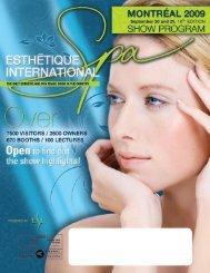register now! - Esthétique Spa International