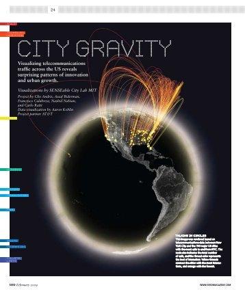 City Gravity - MIT SENSEable City Lab
