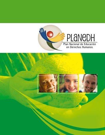 Plan Nacional de Educación en Derechos Humanos (PLANEDH)