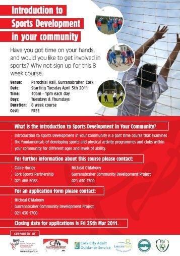 here - Cork Sports Partnership