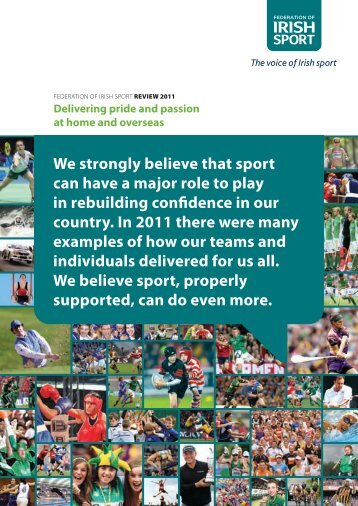 2011 Annual Report.pdf - Cork Sports Partnership