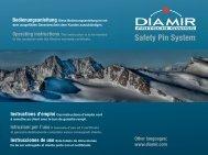 Safety Pin System - DIAMIR Bindings