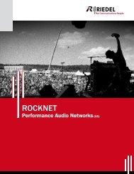 Riedel RockNet RN.341.MY Brochure 2.12MB - Yamaha ...