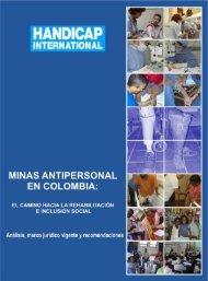Minas antipersonal en Colombia - Análisis, marco jurídico vigente y ...
