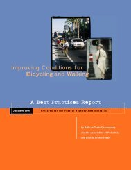 Improving Conditions for Bicycling and Walking - It works!