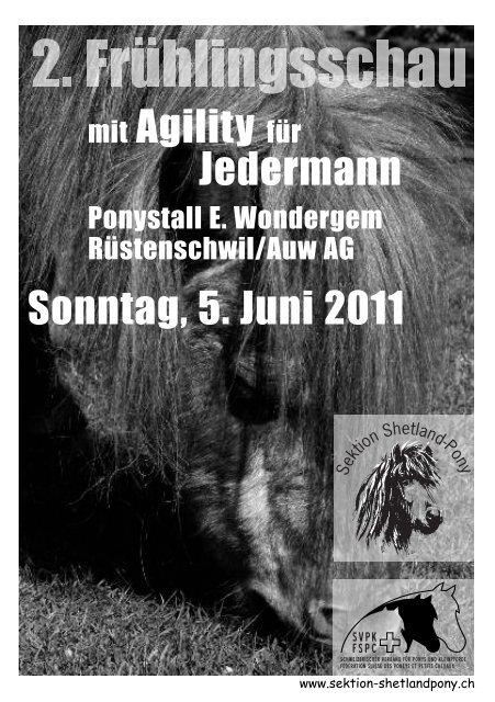 mit Agility für Jedermann Sonntag, 5. Juni 2011 - SVPK