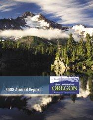 2008 Annual Report - Public Interest Network
