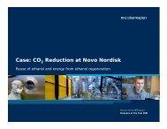 Case: CO Reduction at Novo Nordisk