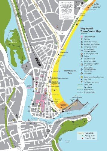 Weymouth map - Visit Dorset