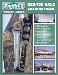 Download SX3 PDF Spec Sheet - SmithCo Side Dump