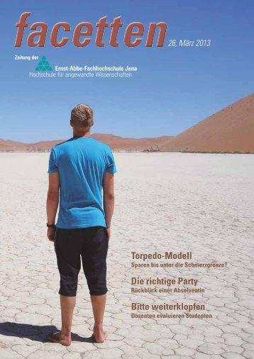 aus den fachbereichen - Friedrich-Schiller-Universität Jena