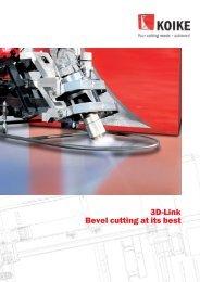 3D-Link Bevel cutting at its best - Svejsehuset A/S