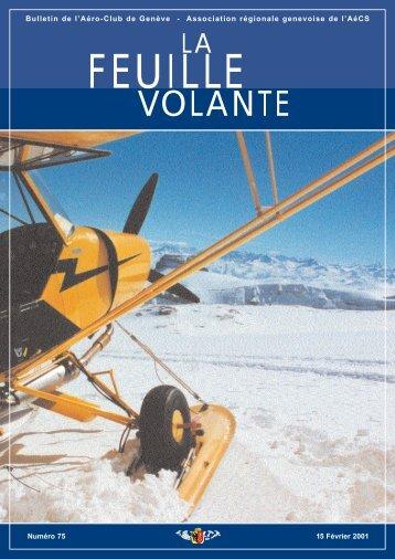VOLANTE - Aeroclub de Genève