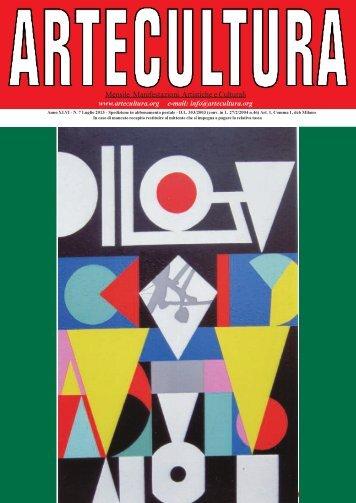 1 Mensile Manifestazioni Artistiche e Culturali - Artecultura