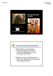Dr. Roland Kunz, Affoltern - End-Of-Life-Care