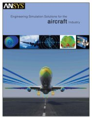 Engineering Simulation Solutions for the Aerospace Industry