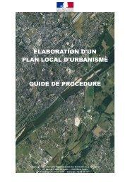 elaboration d'un plan local d'urbanisme guide de ... - Webissimo