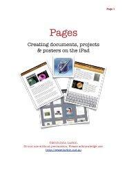 Pages Guide - John Larkin