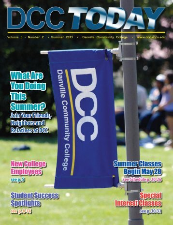 Summer 2013 Class Schedule Magazine - Danville Community ...