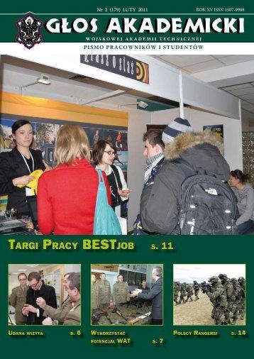 tarGi praCy BEstJoB s. 11 - Wojskowa Akademia Techniczna