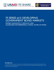 FS Series #12: Developing Government Bond Markets