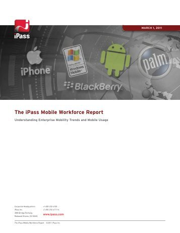 The iPass Mobile Workforce Report
