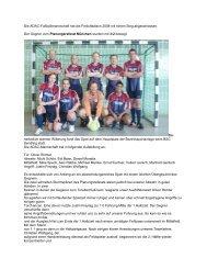 nähere Informationen - Sportundkulturverein.de