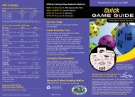 Quick Game Guide [PDF] - Minnesota State Lottery