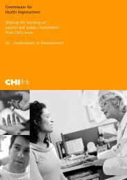 Sharing the learning on patient and public ... - Health in Wales