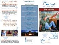 HUD-VASH brochure2.indd - VA Butler Healthcare