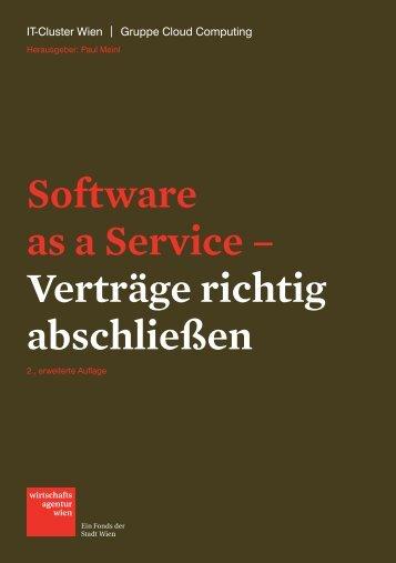 Software as a Service – Verträge richtig abschließen