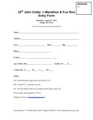35 John Colter ½ Marathon & Fun Run Entry Form - Dreamchasers ...