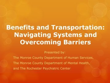 Powerpoint Slides - Monroe County