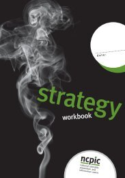 Strategy Workbook - National Cannabis Prevention and Information ...