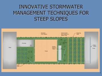 innovative stormwater management techniques for steep slopes