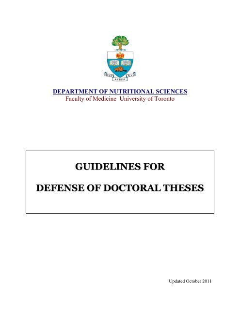 Doctoral thesis completion grant uoft